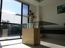 HALF PRICE for QUICK SALE! GLASS TOP MARBLE BASED DINING TABLE! Rochedale Brisbane South East Preview