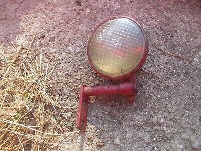 Farmall 300 Tractor Nice Orig Ih Working Front Tear Drop 6v Light Rear Bracket