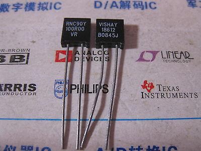 1x Rnc90y 100r00 Vr Vishay Rnc90 Series Metal Foil Resistors Y0089100r000vr0l