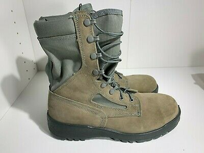 Wellco S161 Sage Green Military Air Force Hot Weather Boot Men's Size 8R Hot Weather Sage Green