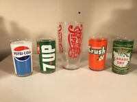 PEPSI Collection bottles and glasses