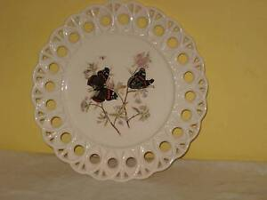 Pretty Butterfly Plate with Decorative Edge Murray Bridge East Murray Bridge Area Preview