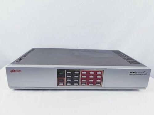 Macom Video Cipher II Satellite Descrambler 2000E Tested