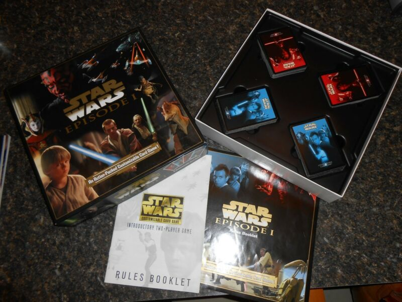 Star Wars Episode 1 complete no. 550 ages 8+ 2-4 ppl EUC collectible card game
