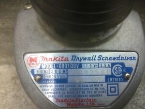 Mikita drywall screwdriver