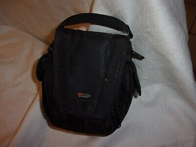 """lowepro padded black camera case 6x6"""" photo accessories pouch"""