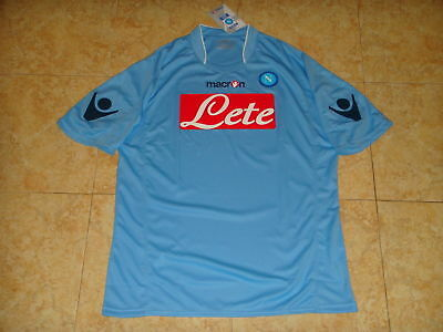 Napoli Soccer Jersey Italy Football Shirt Maglia Maillot Trikot Sky Macron Top, used for sale  Shipping to Canada