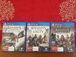 Assassin's Creed PS4 Trilogy Viveash Swan Area Preview
