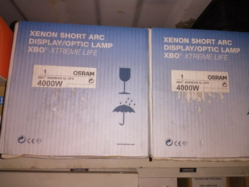 XBO 4000 W/HS XL OFR Xenon Short Arc Lamp