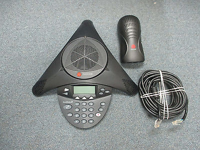 Polycom Soundstation 2 2201-16000-001 Non Expandable Display Conference Phone B