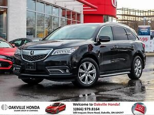 2016 Acura MDX Elite 1-Owner|Clean|Heated Seats|Lowkm
