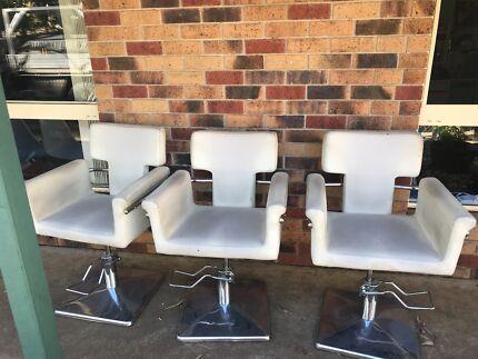 Hair dressers chairs
