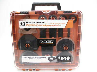 Ridgid AC24J14 14-Piece Multitool Blade Kit