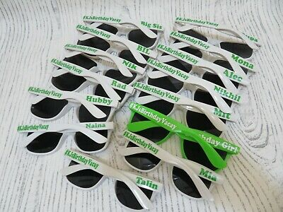 Personalized Sunglasses, wedding favor gift, Parties Festivals Events Hen Party](Personalized Wedding Sunglasses)