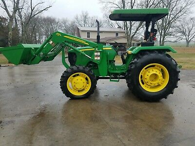 John Deere 5075e 4wd With Loader 160 Hours
