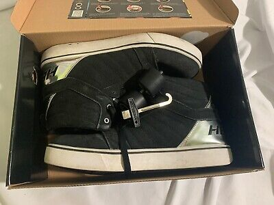 Black Heelys Size 13 Tools And Wheels Included, With Wheel Cover.