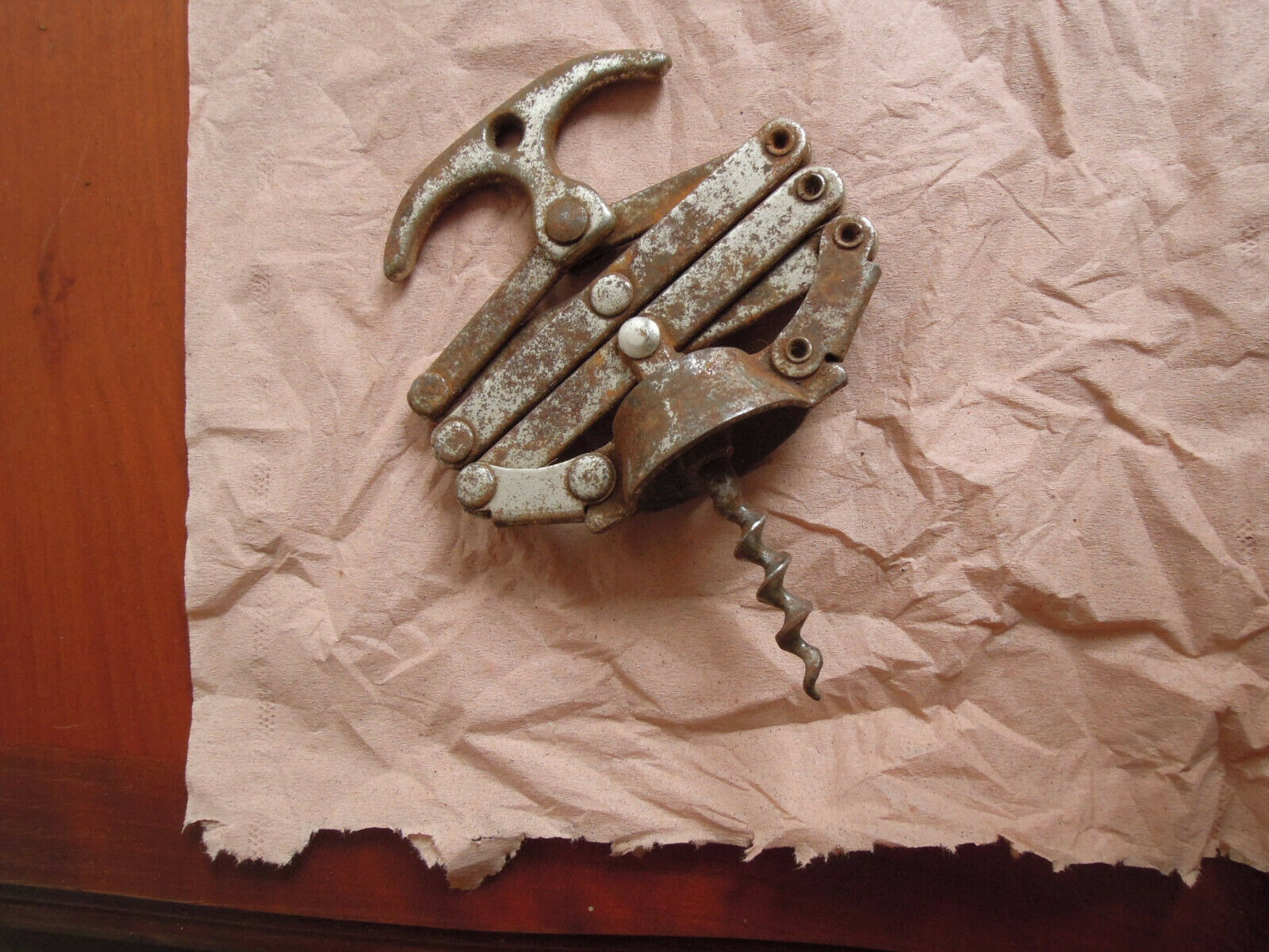 3 anciens tire-bouchon antique french corkscrew