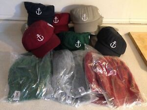 East Coast Life Style Anchor Hats and Keith's Knitted Toques