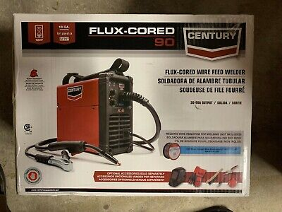 Century Flux-cored Wire Feed Welder 90 Amp 120v Brand New In Box Free Shipping