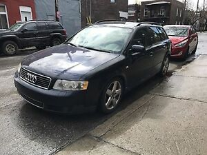 2004 Audi A4 Wagon 1.8T Quattro Manual