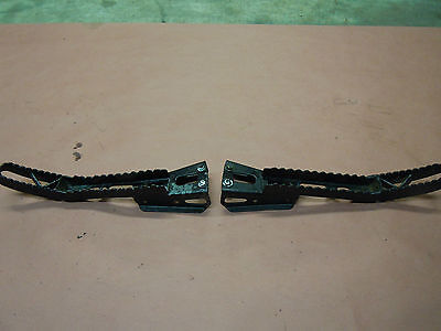 00-07 Bombardier DS650 DS 650 Custom Extended Foot Pegs Left n Right