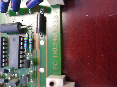 Netstal Control Card Ec110.240.5553d