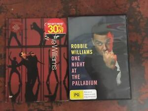 Robbie Williams and Justin Timberlake dvds Manly Manly Area Preview