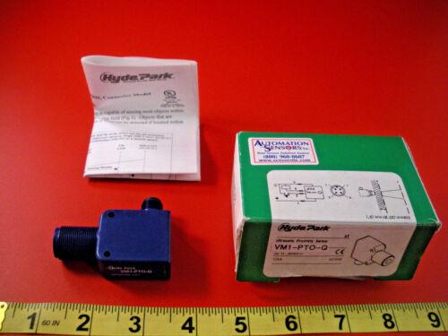 Hyde Park VM1-PTO-Q Ultra Sonic Proximity Sensor VM1PTOQ VM1-PT0-Q Nib New
