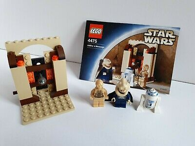 LEGO 4475 Star Wars Jabba's Message 100% complete Rare Retired