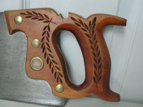 """Vintage SIMONDS  #371 26"""" 10TPI Handsaw Woodworking Carpentry"""