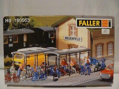 Maquette HO Nouvel abri pour bicyclettes boite 180563 FALLER réf: 3561