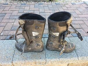 Youths Fox Comp 3 Dirtbike Boots