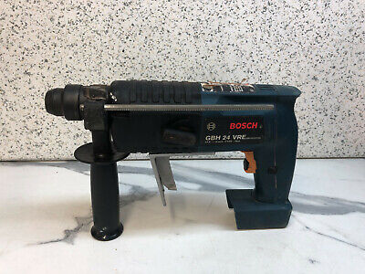 Bosch GBH24VRE 24V Cordless SDS+  Hammer Drill .BARE UNIT. (SLIDE IN BATTERIES) 24v Cordless Sds Hammer