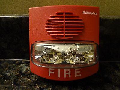 Simplex 4903-9417 Ta Non-addressable Red 15 Cd Av Fire Alarm Strobe