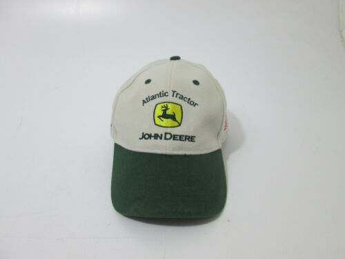 John Deere Atlantic Tractor US Flag Nothing Runs Like A Deere Adjustable Cap Hat
