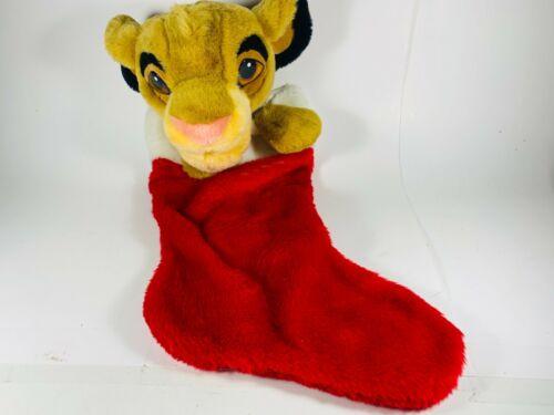 The Lion King Simba Christmas Stocking Retro Vintage Disney