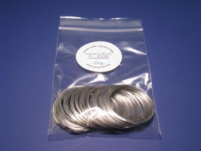 50g RoHS Solder ~ TRT Wonder Solder Signature Thin ~ Lead-Free ~ TRT Dealer