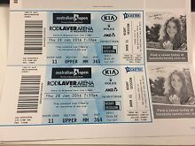 """Australian Open tickets - Men's Singles Semi Final & """"Magic Moments"""" Dee Why Manly Area Preview"""