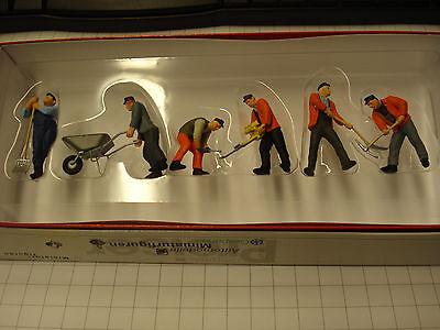 Preiser 65336 Gleisbauarbeiter, 1:43,Spur: 0 Neu OVP