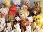 antique teddys toys