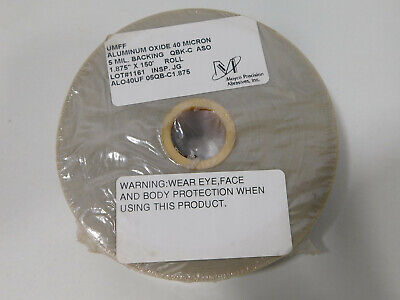 3M LAPPING FILM ROLL 262X 1 MIC 3 MIL 12IN X 150FT ALUMINUM OXIDE