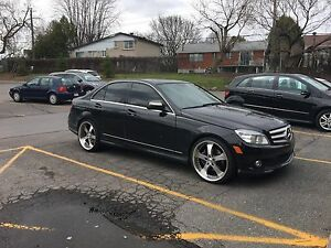 2009 Mercedes Benz C300 manual rwd