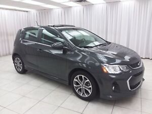 2018 Chevrolet Sonic RS LT TURBO 5DR HATCH w/ BLUETOOTH, HEATED
