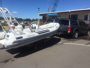 Nautica jet boat. Rigid inflatable Rozelle Leichhardt Area Preview