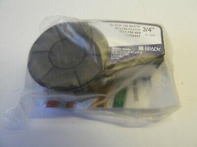 Brady High Adhesion Cloth Label Tape M21-750-499 Nylon 0.75 Width
