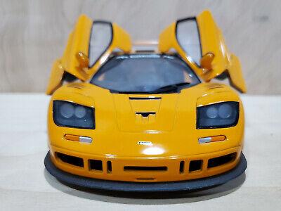 UT MCLAREN F1 XP1 LN  1:18 DIECAST Orange