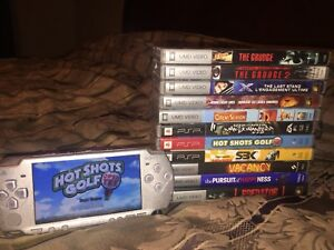 Psp, games and movies