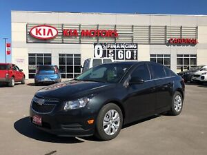 2014 Chevrolet Cruze Bluetooth, cruise, power group, CARFAX CLEA