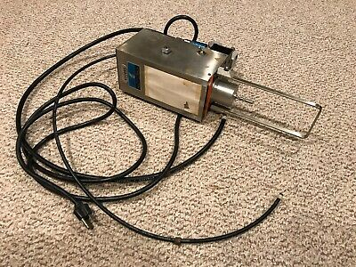 Brookfield Engineering Rvt Rl Rheometer Viscometer Runs Consistently Spins