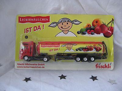 """Werbetruck """"Leckermäulchen Gelb"""" von frischli - NEU & OVP!!!"""
